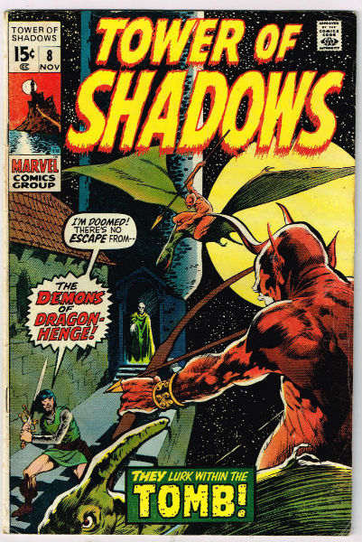 TOWER OF SHADOWS #8   VOLUME 1 |  MARVEL