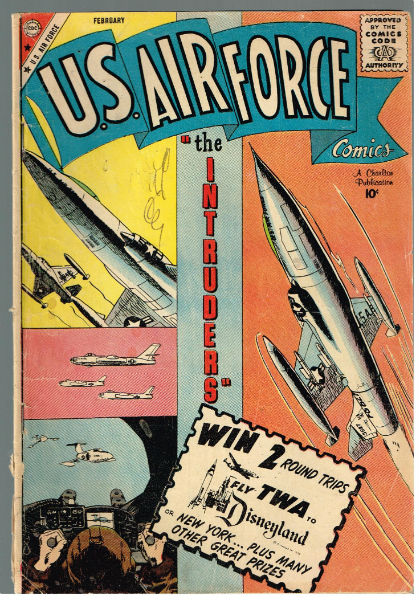 Image for U.S. AIR FORCE #8   VOLUME 1 |  CHARLTON  5.5 very Good+/fine