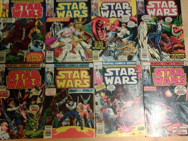 Star Wars comic lot  of 8;#16 thru #22