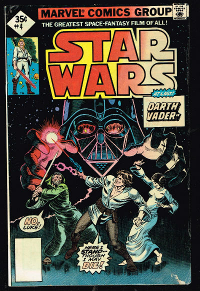 Image for Star wars #4