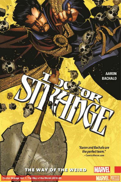 Image for DOCTOR STRANGE VOL. 1: THE WAY OF THE WEIRD (HARDCOVER)