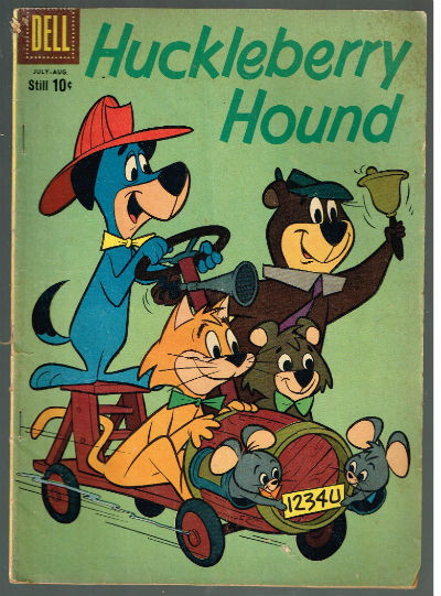 Image for HUCKLEBERRY HOUND (HANNA-BARBERA)(INCLUDES FOUR-COLOR) #6