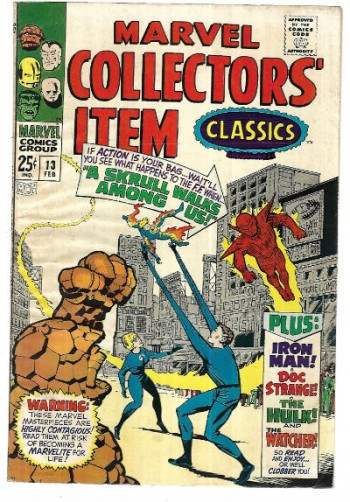 Image for Marvel Collector's Item classics #13