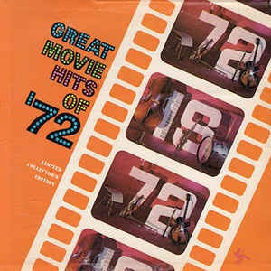 Image for Great Movie Hits of 1972
