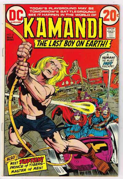 Image for KAMANDI, THE LAST BOY ON EARTH #4   1973 |  VOLUME 1 |  DC