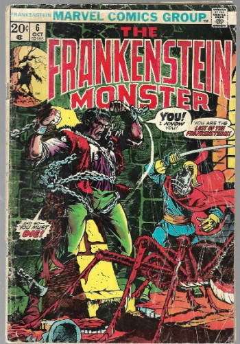 Image for The Frankenstein Monster #6