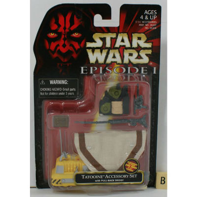 Image for Star Wars Episode 1 Tatooine Accessory Set (B) - MOSC Hasbro  Star Wars Episode 1