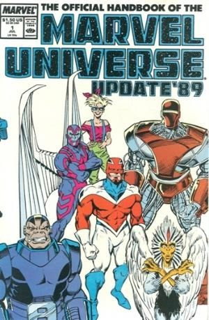 Image for The official handbook of the Marvel Universe #1 thru #6