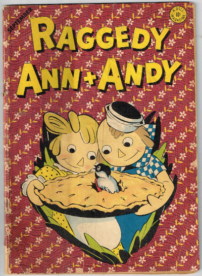Image for RAGGEDY ANN + ANDY #4    1946 | VOLUME 1 | DELL