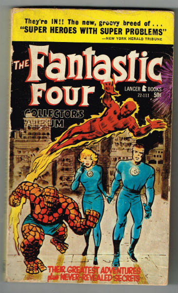 Image for the Fantastic Four collector's album