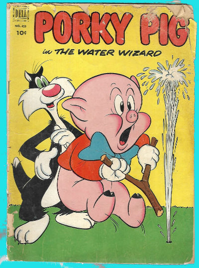 Image for Four Color #410:Porky and the water wizard