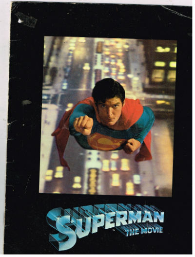 Image for Superman:the Movie program
