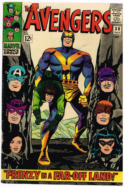 Image for Avengers #30;July 1966