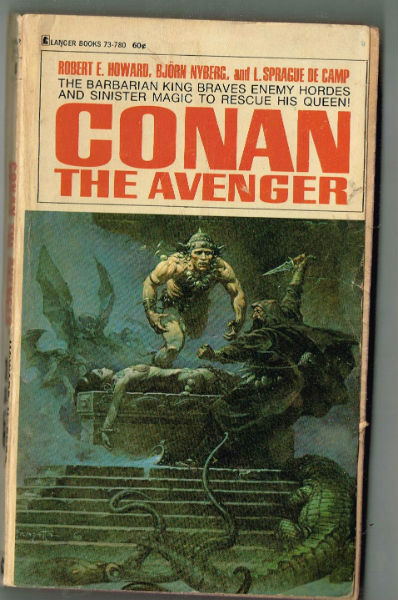 Image for Conan,set of 3 by Lancer;Conan,Conan the buccaneer and Conan the Avenger