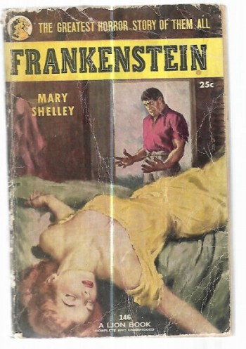 Image for Frankenstein:The Greatest horror story of them all!!