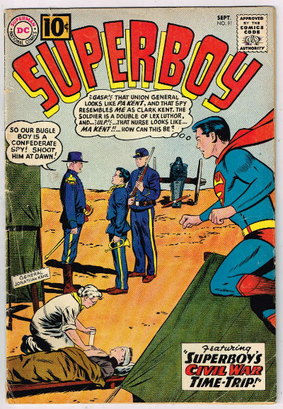 Image for SUPERBOY #91    1961 | VOLUME 1 | DC