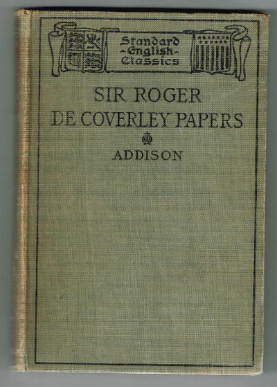 Image for Sir Roger De Coverley Papers