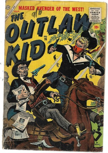 Image for Outlaw Kid #16 art by Doug Wildey