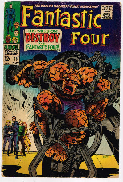 Image for FANTASTIC FOUR #68   VOLUME 1 |  MARVEL