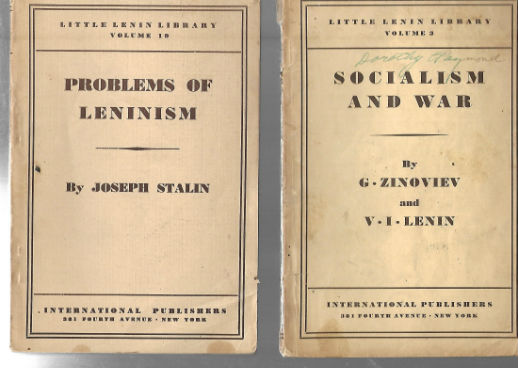Image for 2 vol.fro the Little Lenin Library(I believe there were 26 vol. in all.