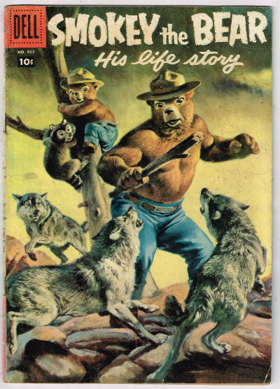 Image for SMOKEY THE BEAR (FOUR-COLOR) #932   1958 |  VOLUME 1 |  DELL