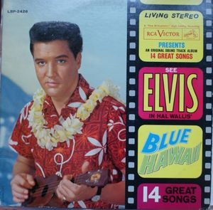 Image for Elvis Presley ‎– Blue Hawaii (Soundtrack)  Label:  RCA Victor ‎– LSP-2426