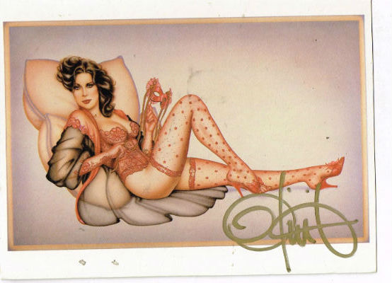 Image for Olivia:3 saucy cards by the Mistress of Saucy and signed by her as well