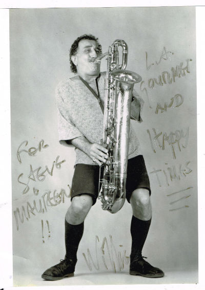 "Image for Willie Restum photo aprox.8""x10"" signed B&W"