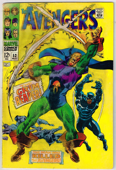 Image for Avengers #52,May,1968
