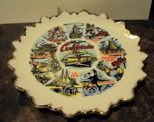 Image for Vintage California State Souvenir Decorative Plate