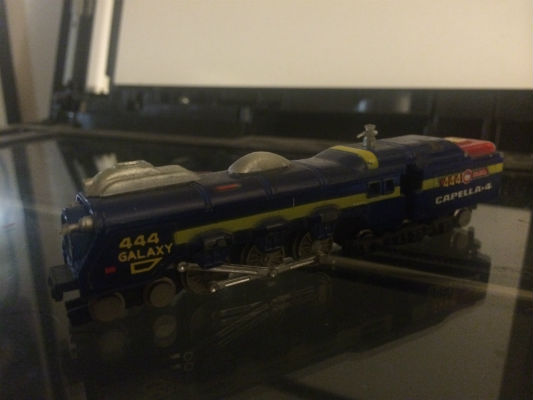 Image for Leiji matsumoto's,galaxy Express die-cast train,model no.444 w/box