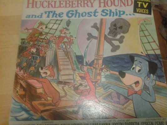Huckleberry Hound and the ghost ship    Author:	Daws Butler; Don Messick; Doug Young  Publisher:	New York, N.Y. : Colpix, [1965?]  Edition/Format:	   Audiobook on LP : LP recording : Juvenile audience : English