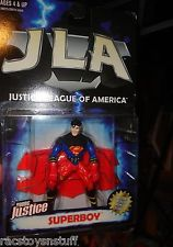 Image for JUSTICE LEAGUE OF AMERICA YOUNG JUSTICE SUPERBOY. MOC