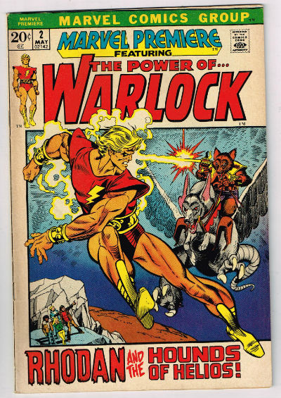 Image for Marvel Premiere #2 - Power of Warlock! - 1972 (Grade 5.0) WH