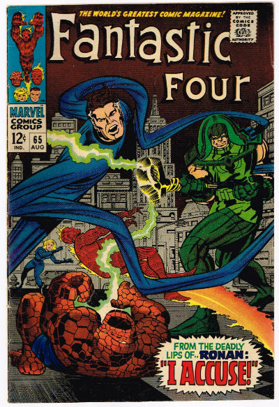 Image for Fantastic Four #65
