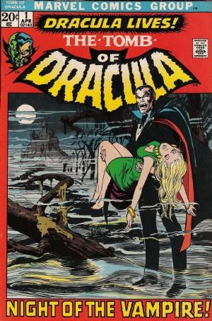 Image for Tomb of Dracula #1  Tomb of Dracula » Tomb of Dracula #1 - Dracula released by Marvel on April 1972.