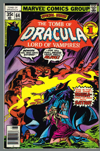 Image for Tomb Of Dracula #64  Gene Colan Art!!