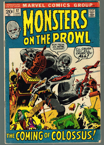 Image for Monsters on the prowl #17