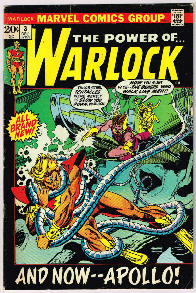 Image for WARLOCK-1972 #3  Marvel