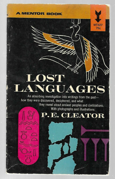 Image for Lost Languages