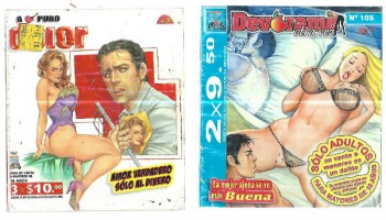 Image for Naughty Adult mini comics from Mexico (4)