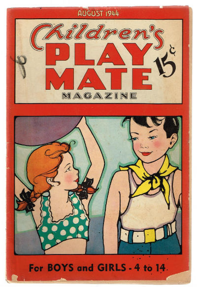 Image for Children's playmate for boys and girls 4 to 14-1944