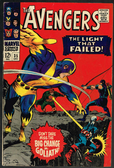 Image for The Avengers #35,Dec.1966