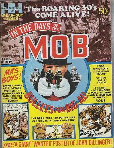 Image for In the days of the Mob-Jack Kirby