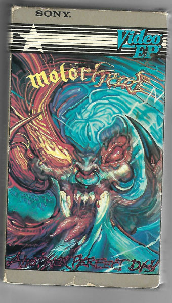 Image for Motörhead ‎– Another Perfect Day  Label:  PolyGram Music Video ‎– R0449VH  Series:  Video EP –  Format:  VHS, EP, Stereo, Mono, NTSC   Country:  USA & Canada  Released:  1985  Genre:  Rock  Style:  Heavy Metal