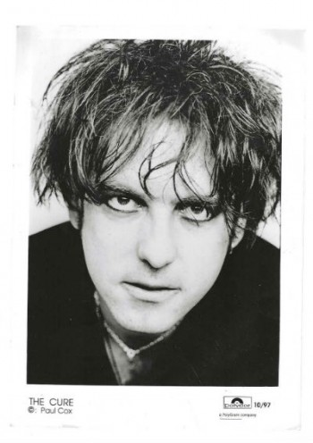 Image for Paul Cox/the Cure press photo