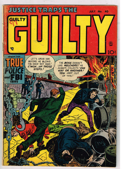 Image for JUSTICE TRAPS THE GUILTY   1947-1958 |  VOLUME 1 |  HEADLINE
