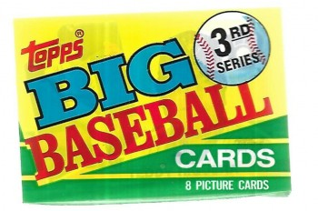 Image for Big Baseball Cards 3rd Series  sealed pack