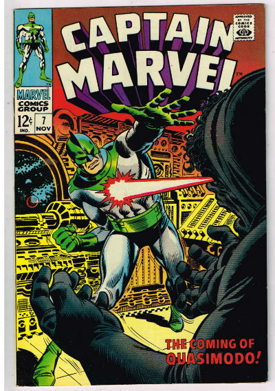 Image for CAPTAIN MARVEL #7   1968-NOV. |  VOLUME 1 |  MARVEL