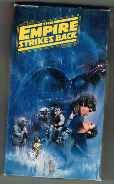 Image for the STAR WARS trilogy on VHS.